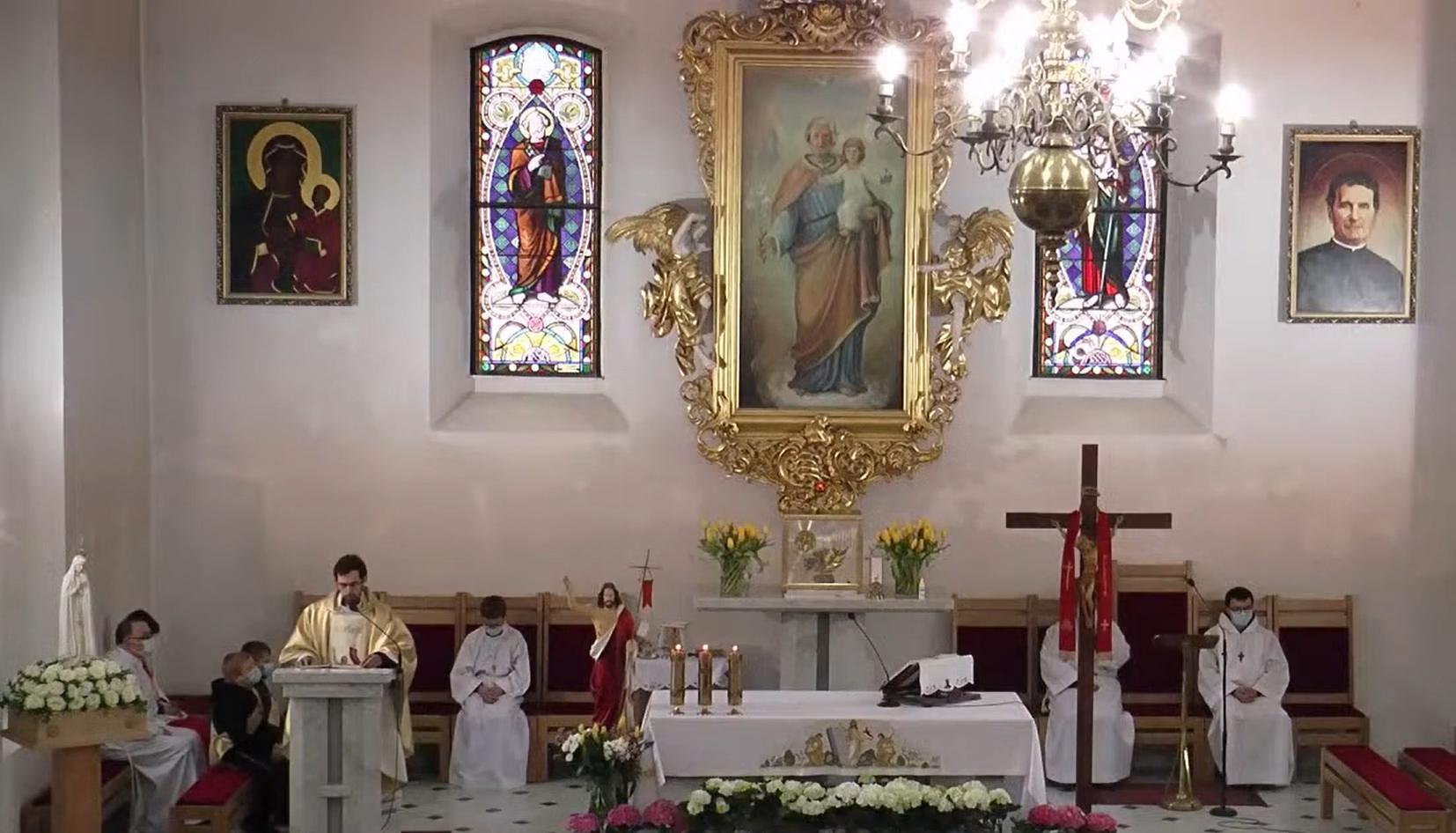 Na żywo z chocianowskiej świątyni o 11:30 (wideo)