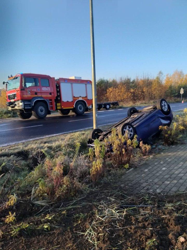 Niebezpieczny poranek na drogach