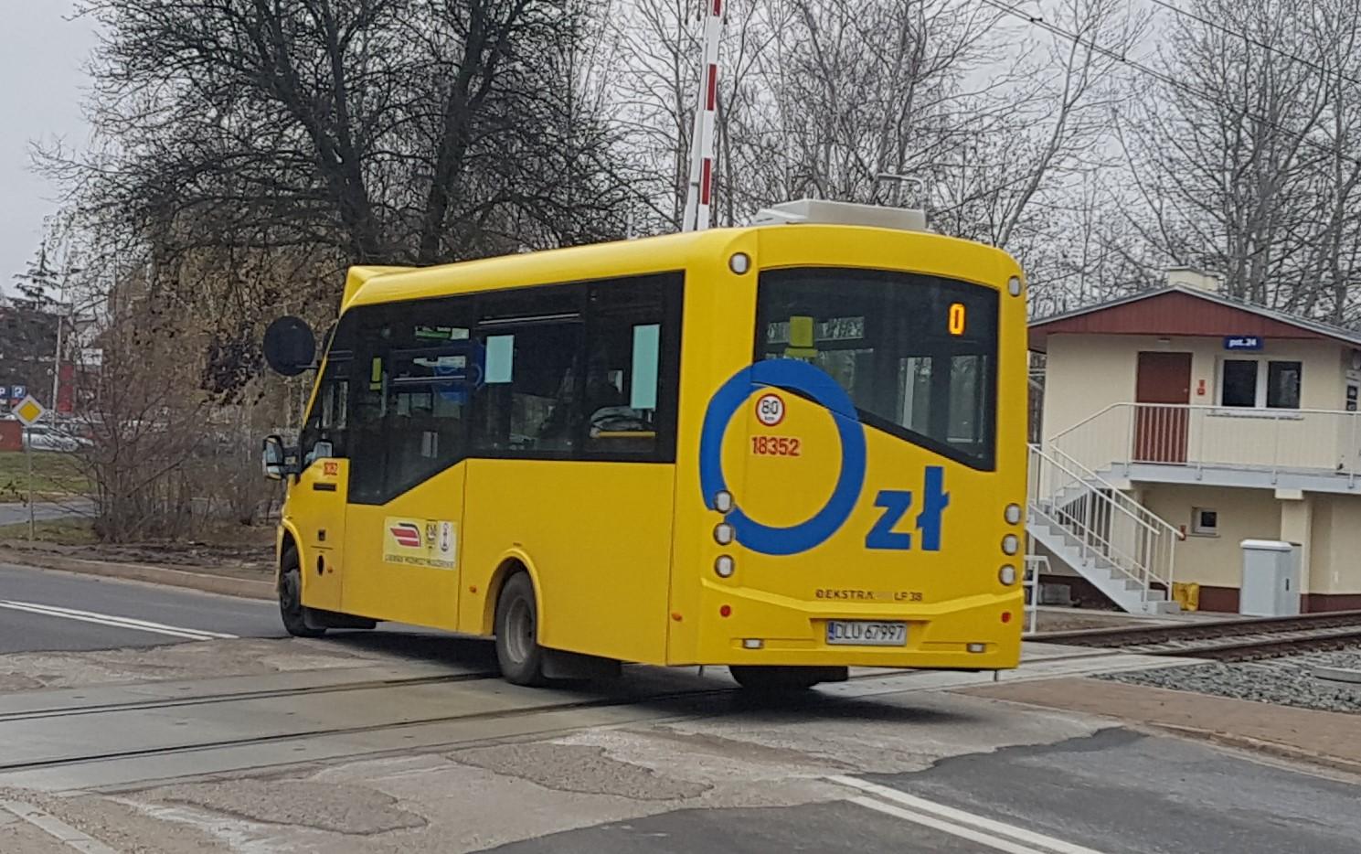 Autobusy wyjeżdżają z Chojnowa