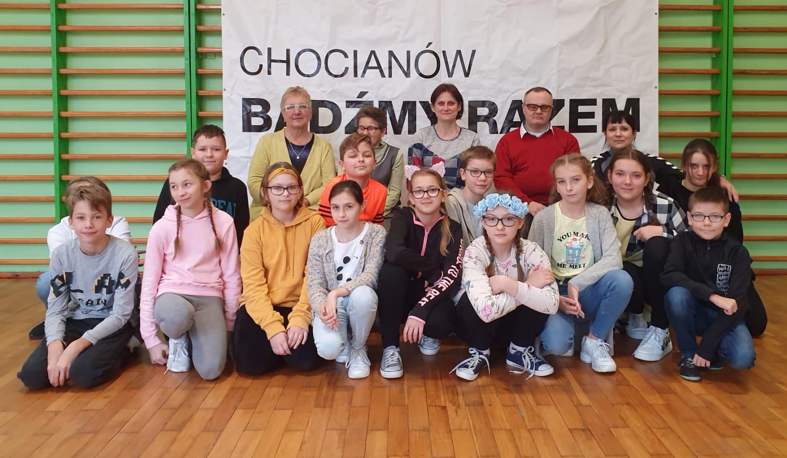 Ciekawe spotkanie w Szkole Podstawowej w Chocianowie