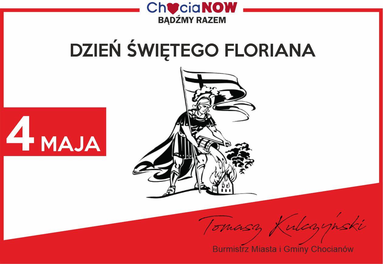 Święty Florian czuwa, Burmistrz przesyła życzenia