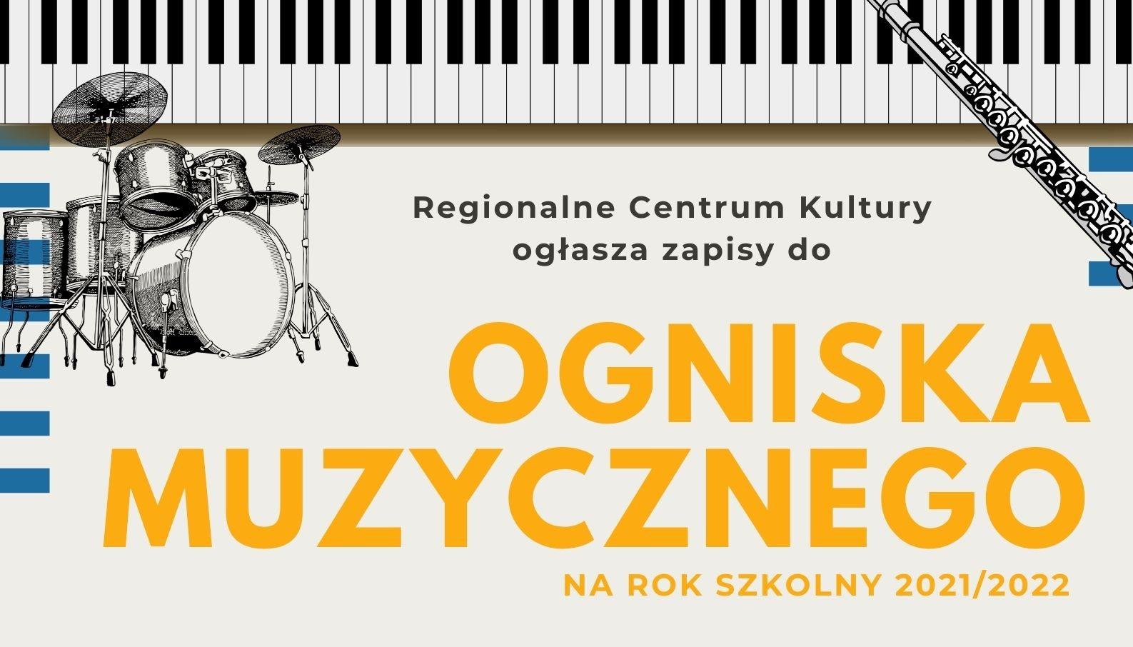Muzyczne zajęcia w Ognisku Muzycznym od września. Trwają zapisy