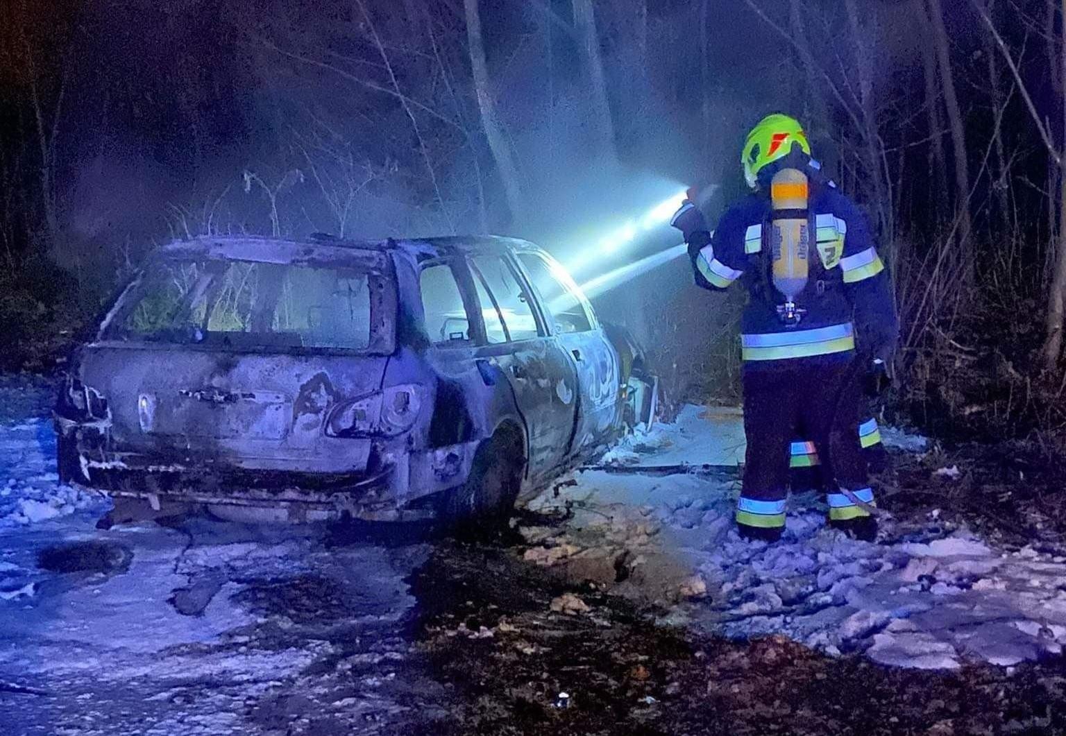 Kolejne auto spłonęło w naszej gminie
