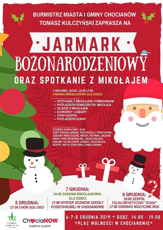 Mikołajkowy Jarmark Bożonarodzeniowy 2019