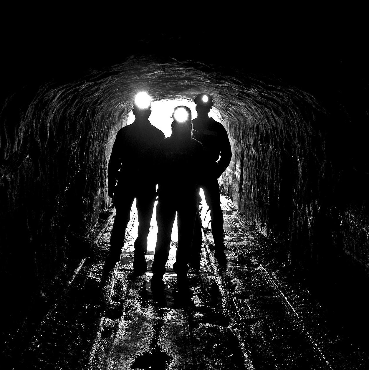 Pożar w kopalni
