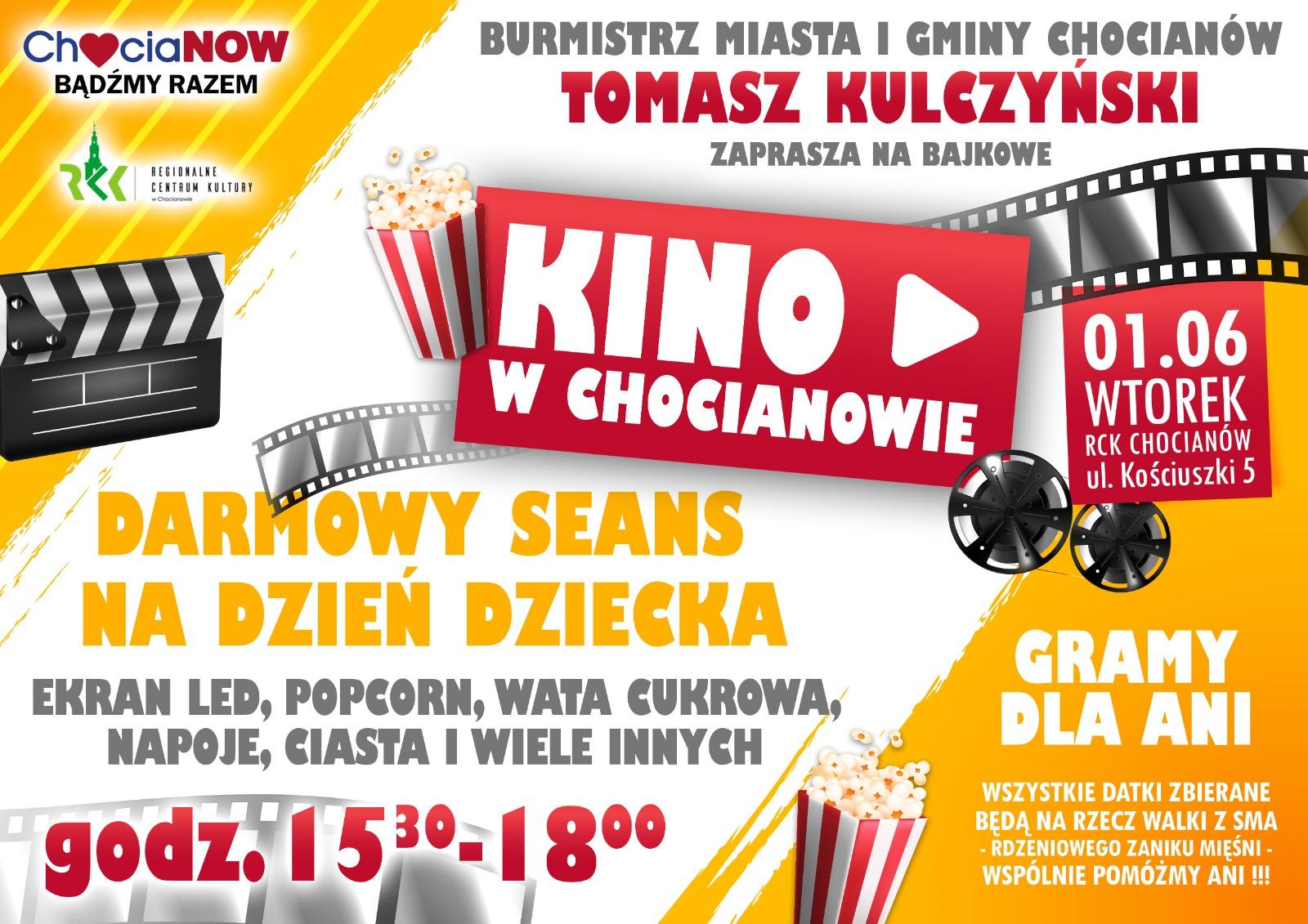 Kinowy Dzień Dziecka ze zbiórką w tle
