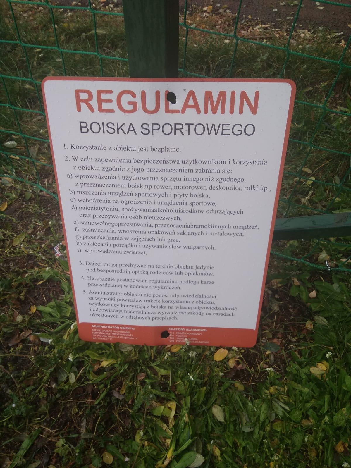 Kolejne kradzieże i dewastacje w Chocianowie