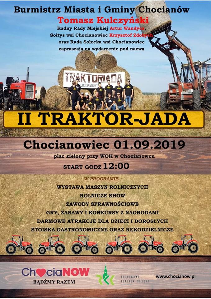 W niedzielę druga edycja Traktor-jady!