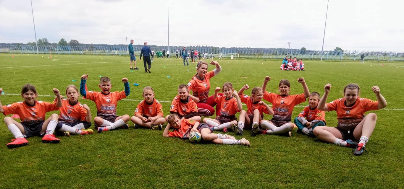 Pierwsze sukcesy chocianowskich rugbystów