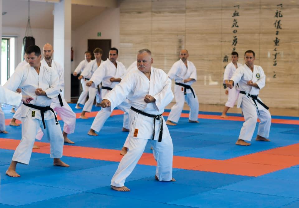 Szkolili umiejętności pod okiem najlepszych karateków