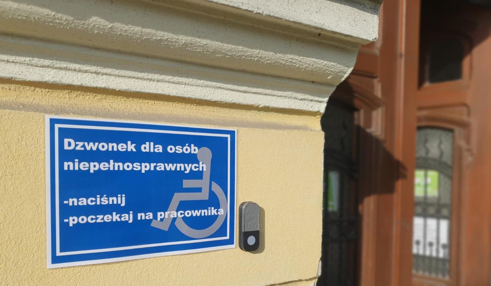 Urząd Miasta i Gminy Chocianów przyjazny osobom niepełnosprawnym