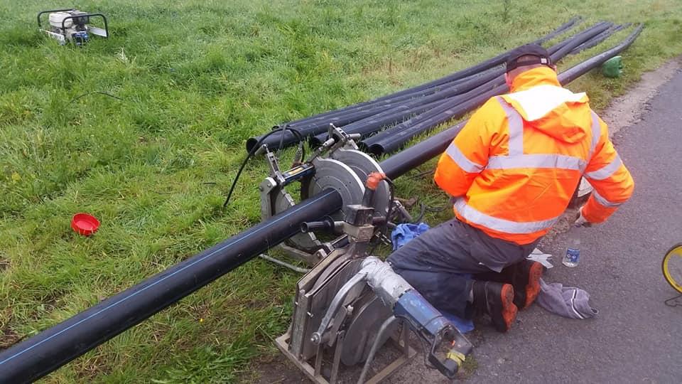 Zakończono I etap budowy sieci wodociągowej w Rakowie
