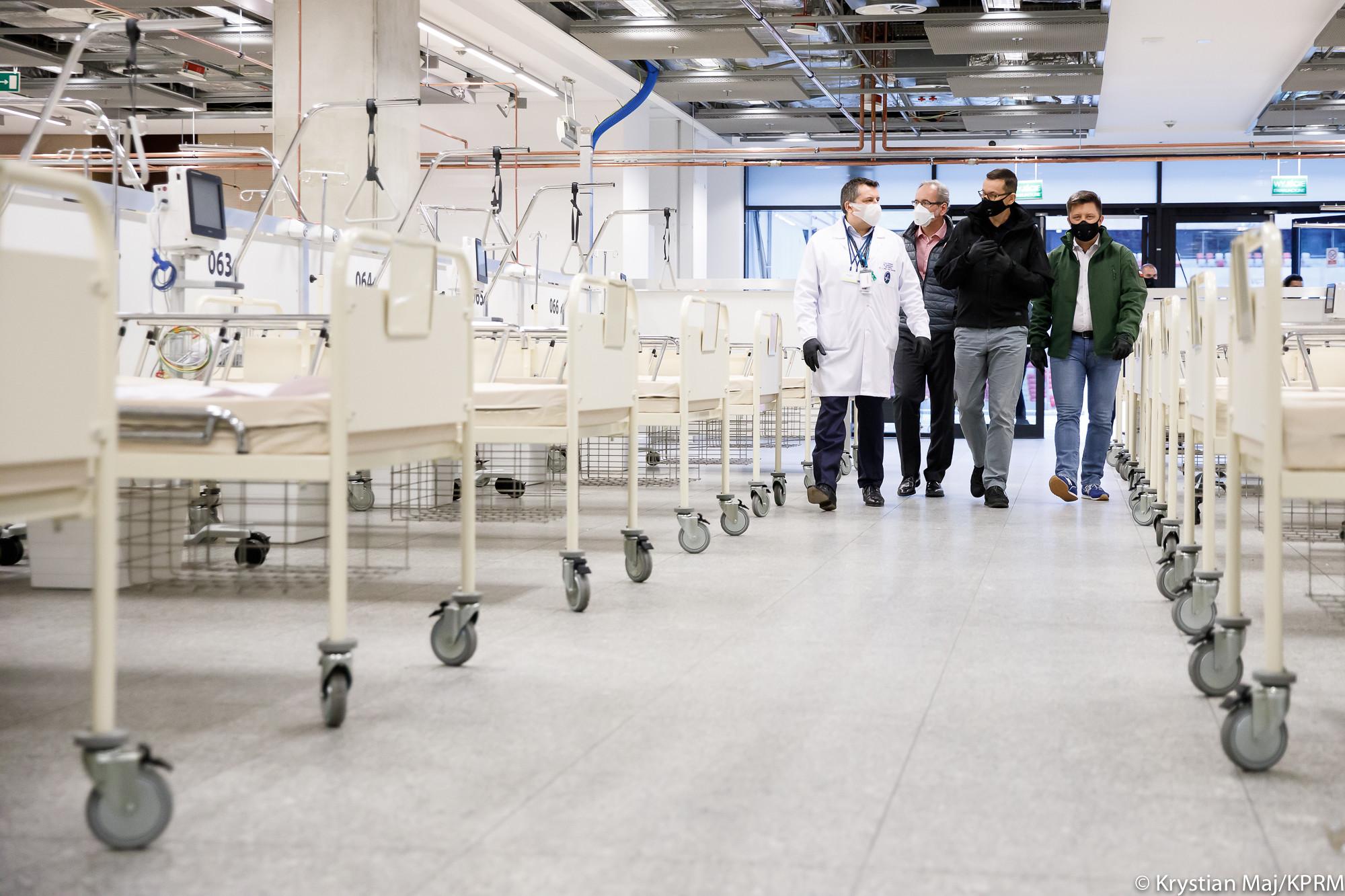 Od jutra nowy szpital tymczasowy we Wrocławiu