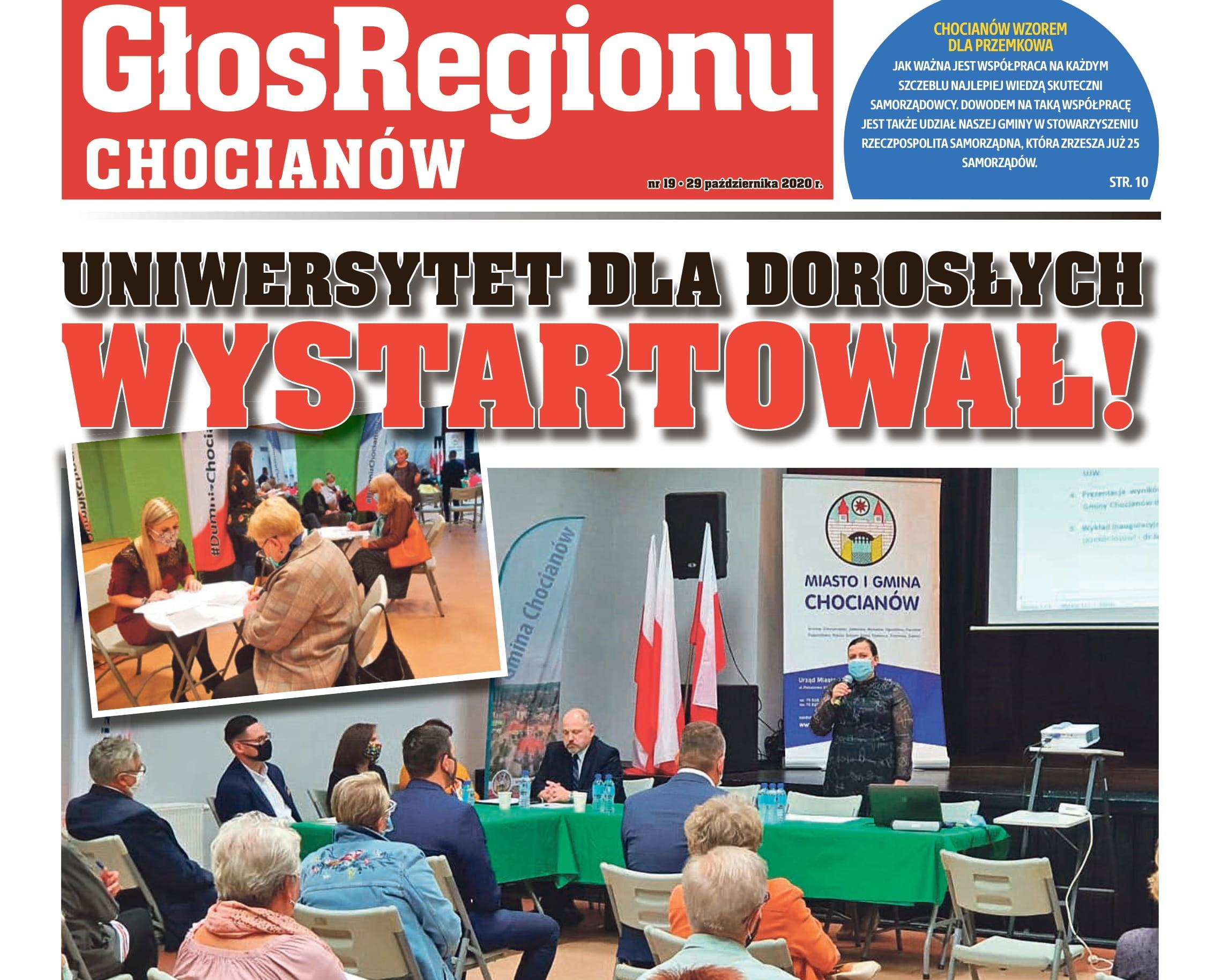 Październikowe wydanie Głosu Regionu już jest