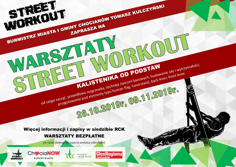 Warsztaty Street Workout w Chocianowie