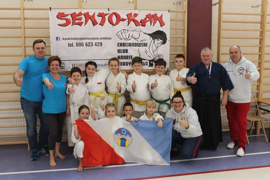Chocianowski Klub Karate ''Sento-Kan'' po raz kolejny na podium