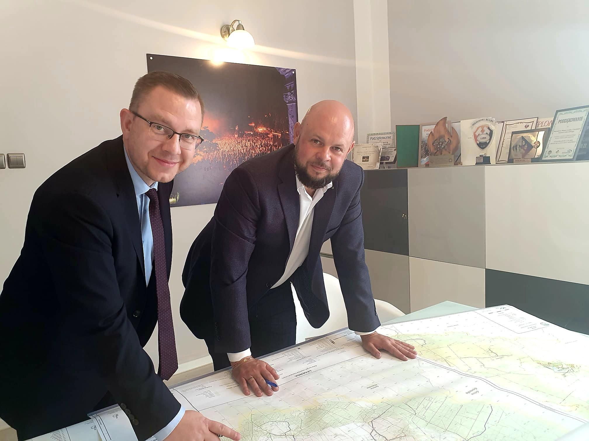 Coraz więcej ważnych gości u Burmistrza Kulczyńskiego