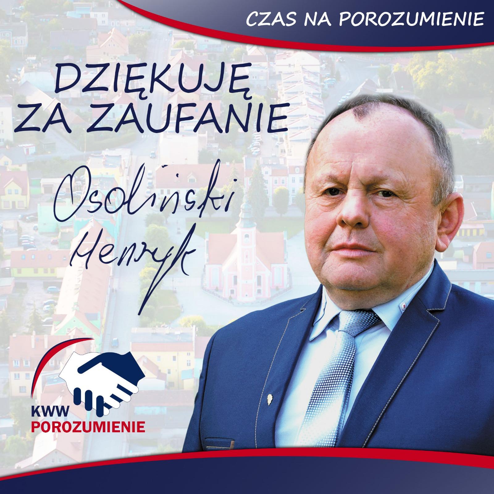 Osoliński oficjalnie nowym radnym