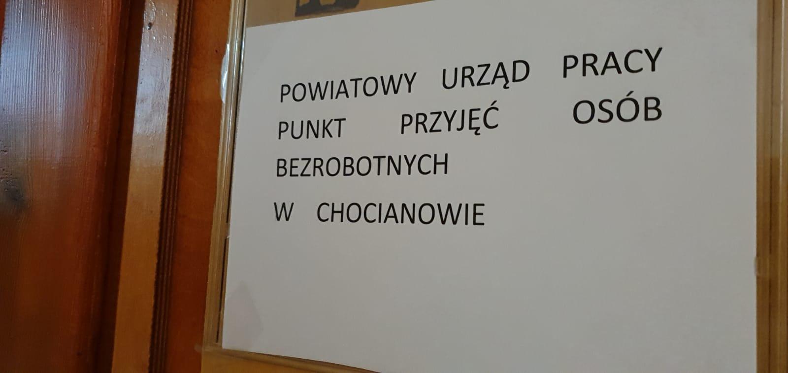 Zmiana lokalizacji Urzędu Pracy w Chocianowie