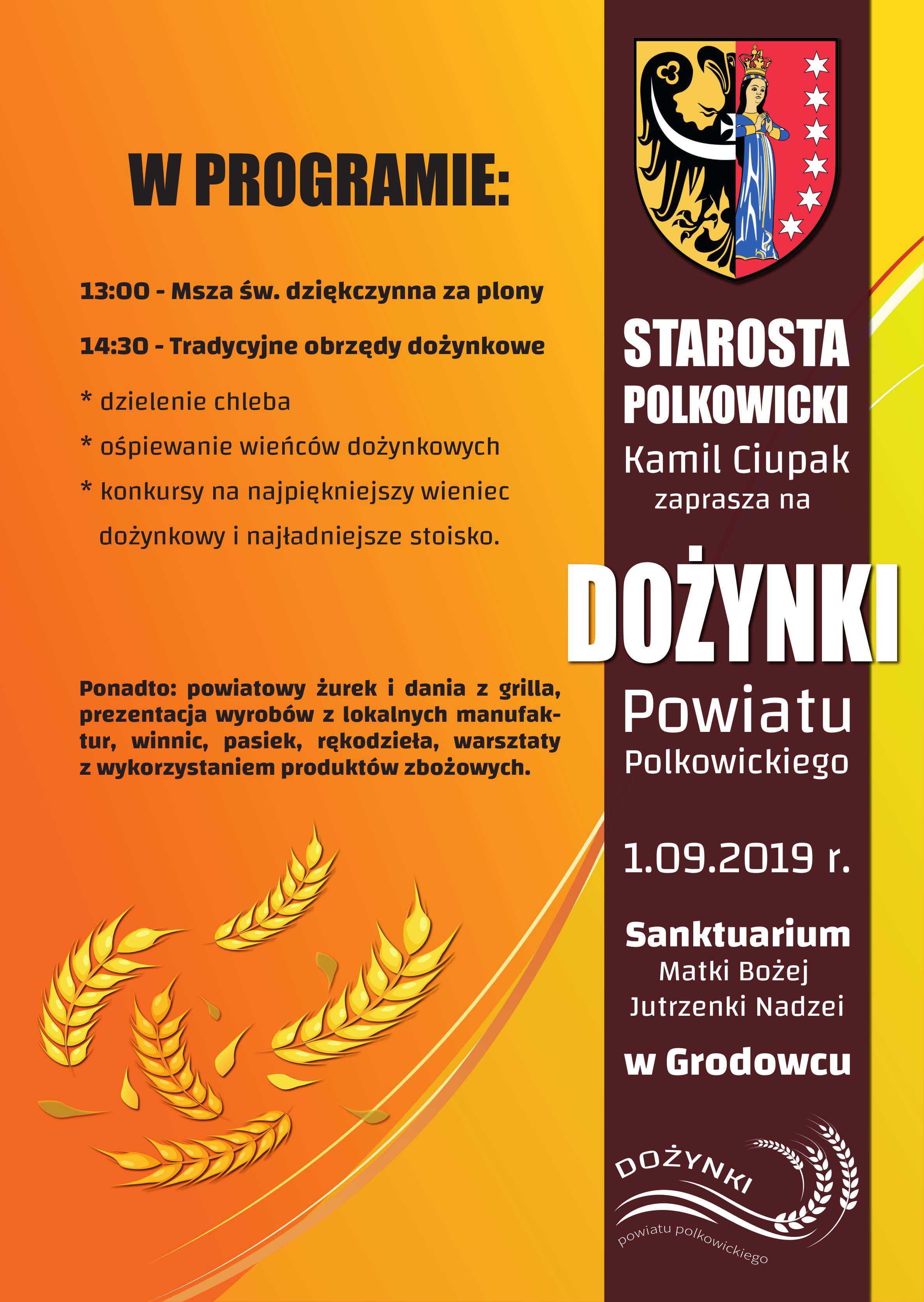 Powiatowe Dożynki w Grodowcu