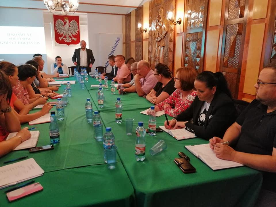 Sołtysi spotkali się z Burmistrzem