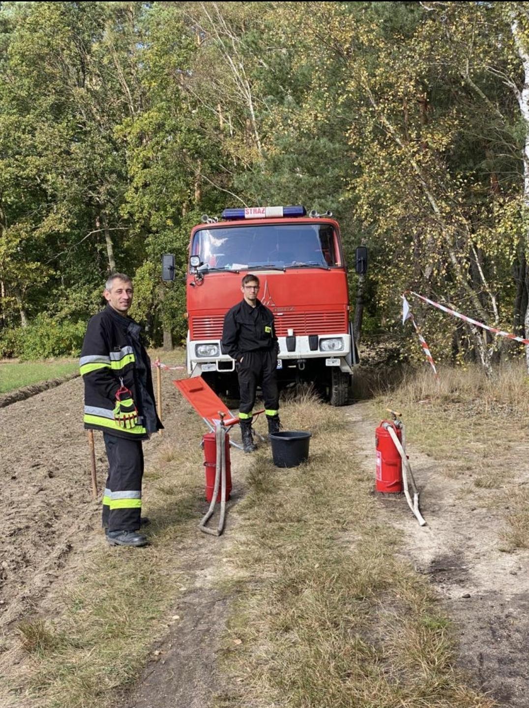 Sobotnie manewry pożarnicze młodzieżowych drużyn (galeria zdjęć)