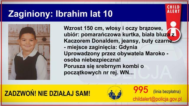 Child Alert! Cała Polska szuka 10-latka