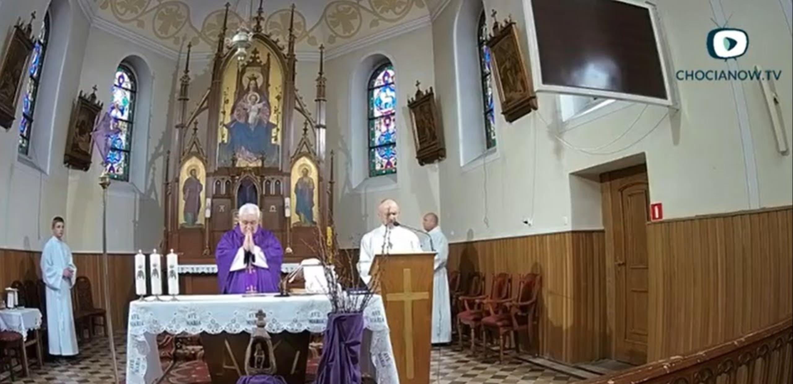 Niedziela Miłosierdzia Bożego na żywo