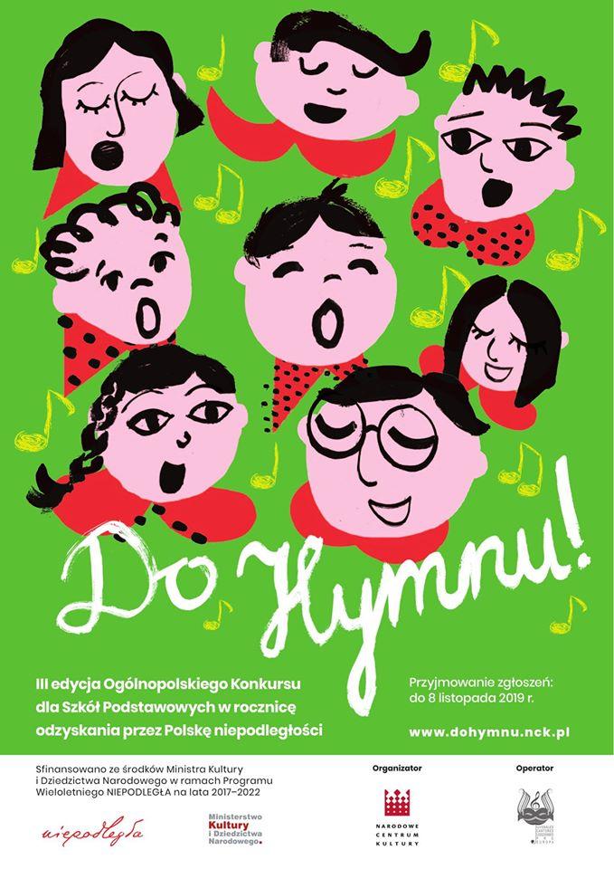 Szkoła Podstawowa w Parchowie weźmie udział w III edycji ,,Do Hymnu''
