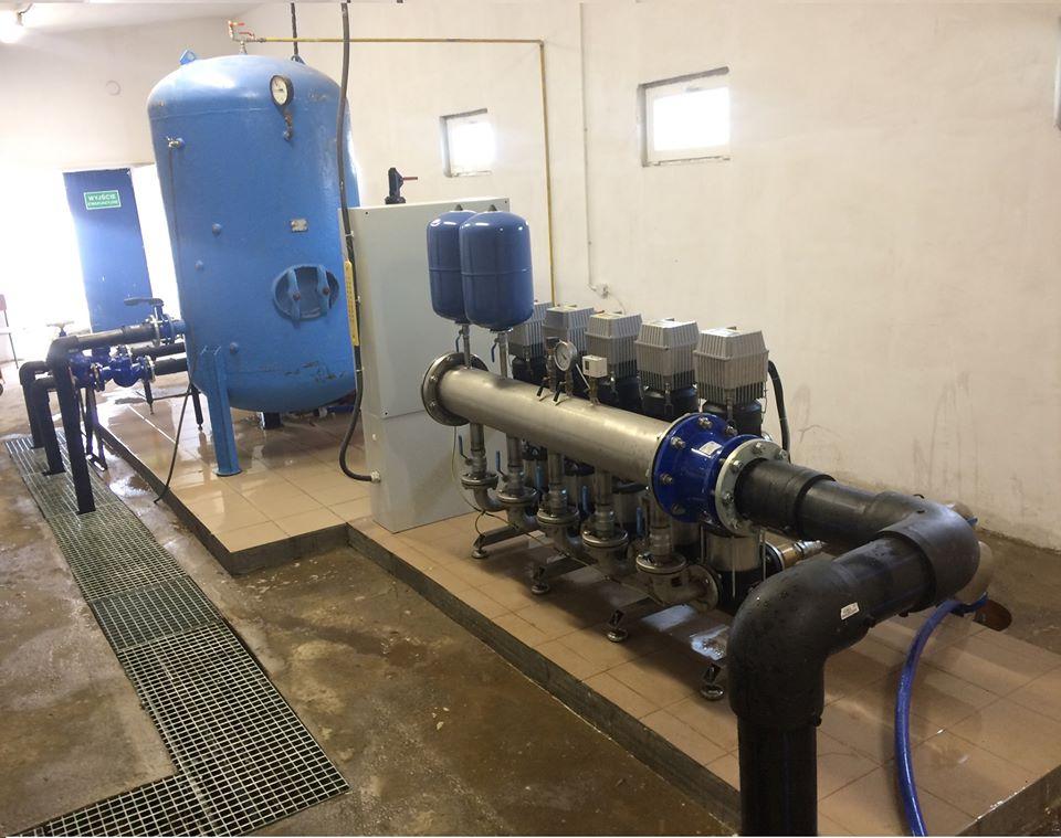 Zamontowano nowoczesne urządzenia wspomagające studnie
