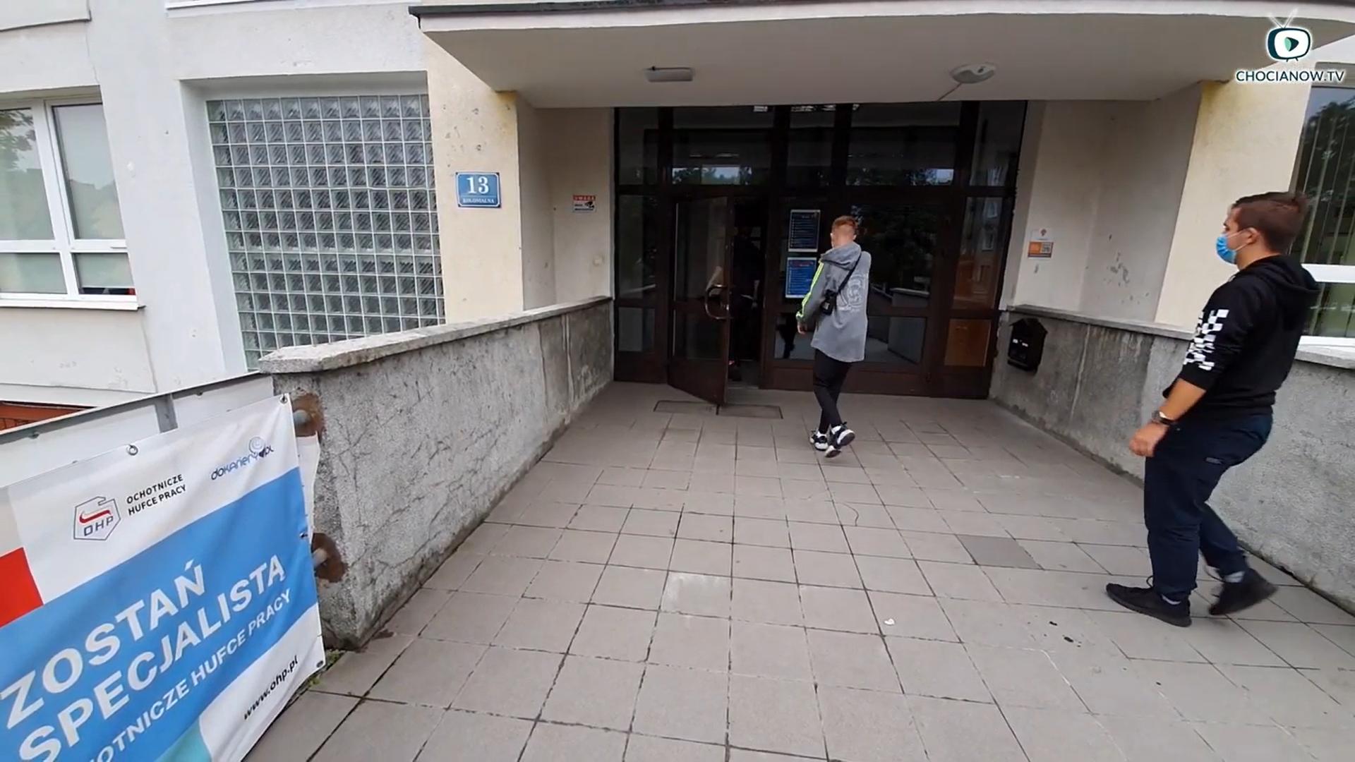 Rozpoczęcie roku szkolnego w Chocianowie okiem kamery (wideo)