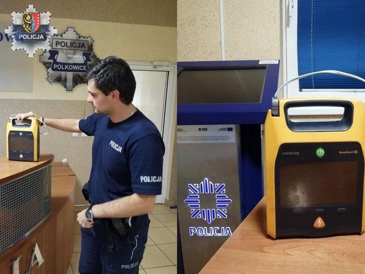 Defibrylator wróci do szpitala, złodziejowi grozi 5 lat