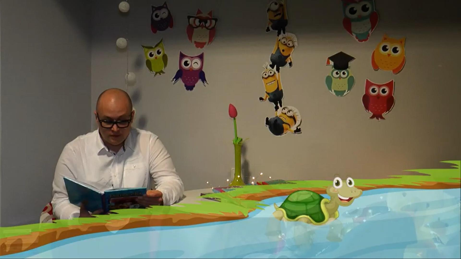 Skradziony domek żółwia (wideo)