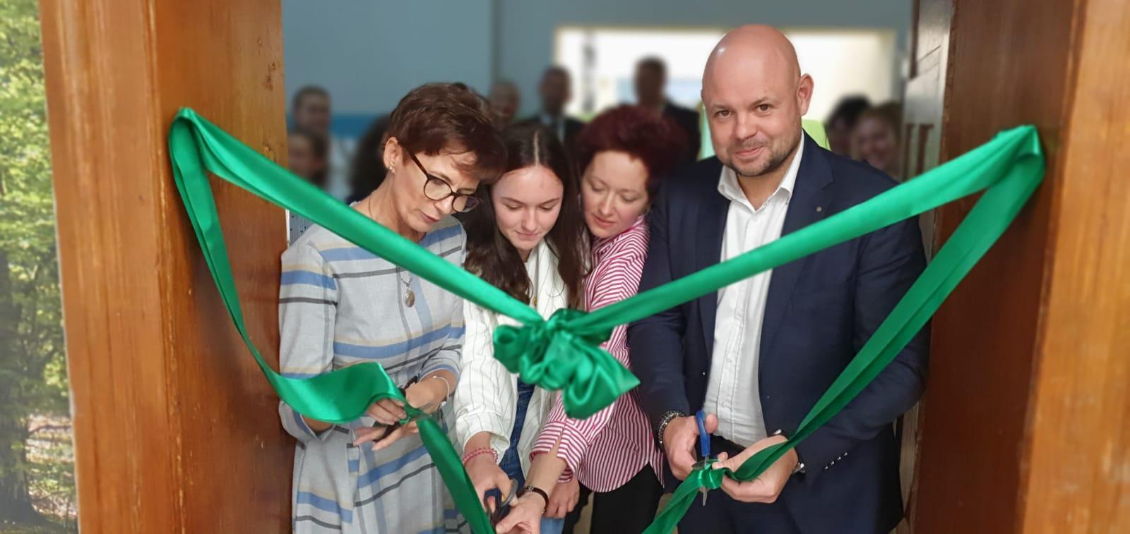 Otwarcie nowej sali komputerowej w Szkole Podstawowej w Chocianowie