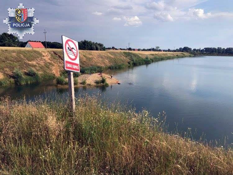 Policja apeluje: Zadbajmy wspólnie o bezpieczny wypoczynek nad wodą