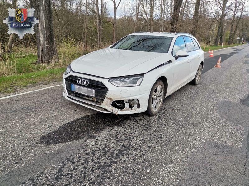W Chocianowie odnaleźli kradzione auto