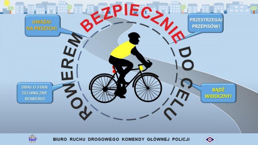 Na rowerze może być bezpiecznie