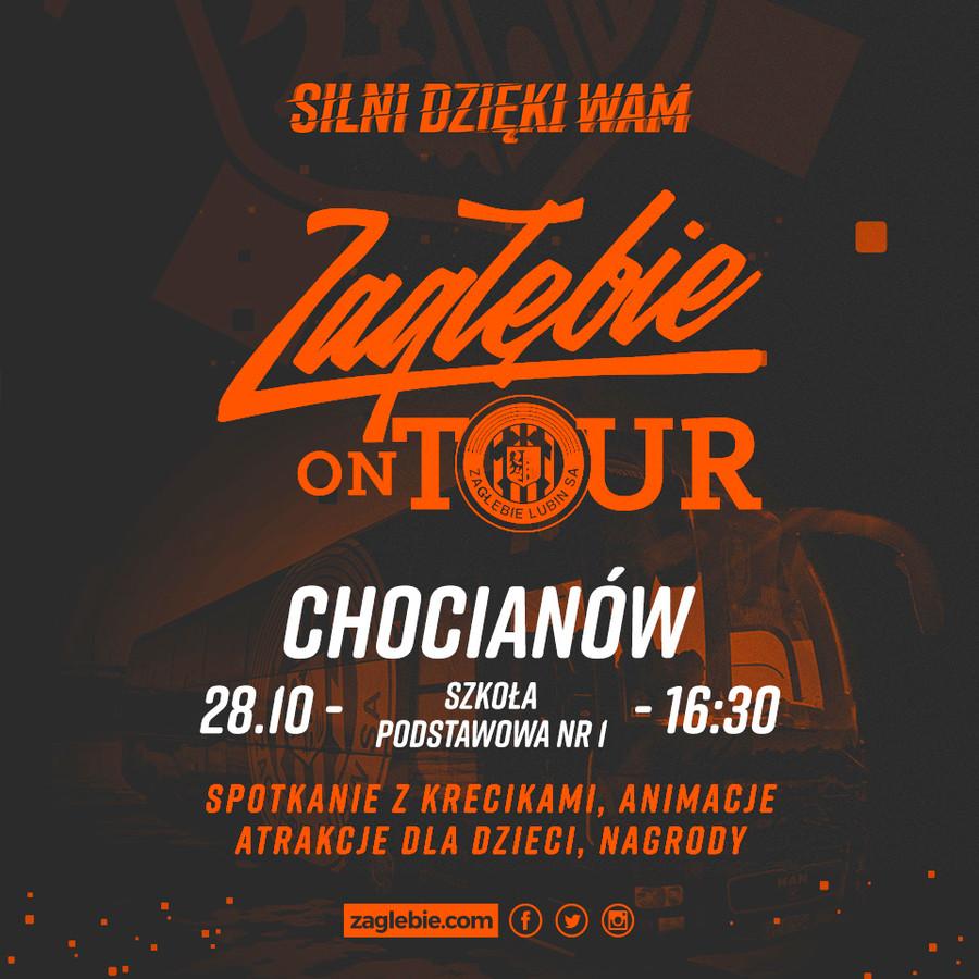 Zagłebie odwiedzi kibiców i fanów Chocianowa