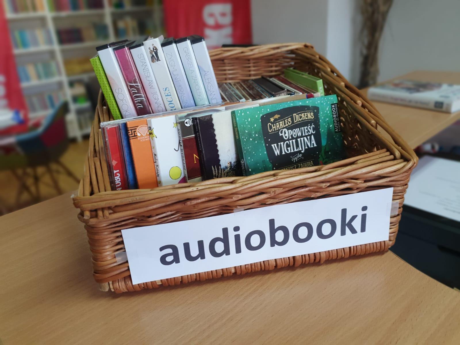 Nowe audiobooki w Bibliotece Publicznej w Chocianowie