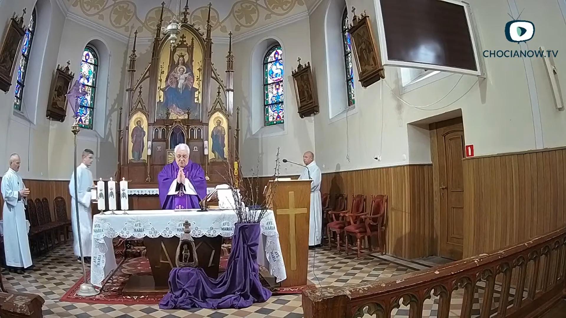 Msza Święta na żywo (wideo)