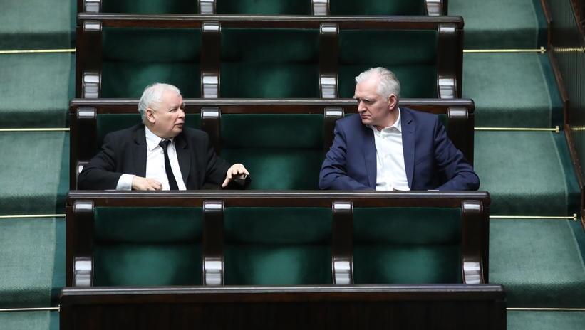 Kaczyński i Gowin: Sąd Najwyższy stwierdzi nieważność wyborów