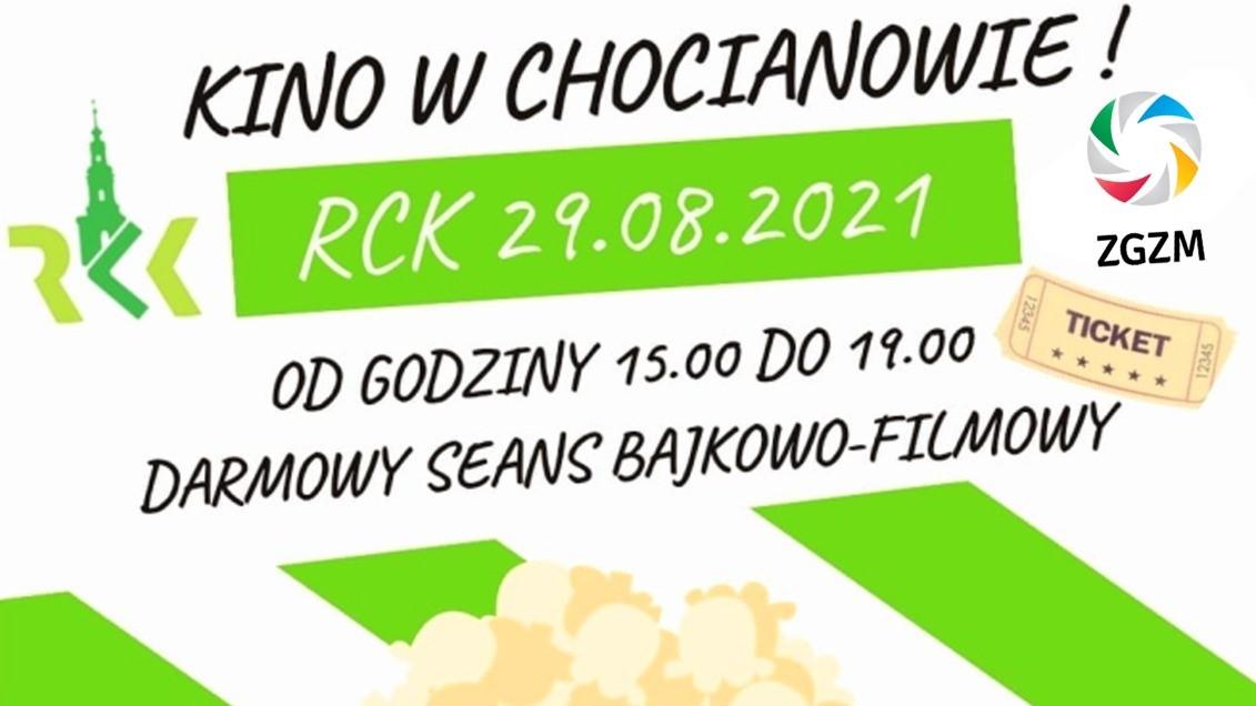 Jutro także kino w Chocianowie - tym razem w RCK