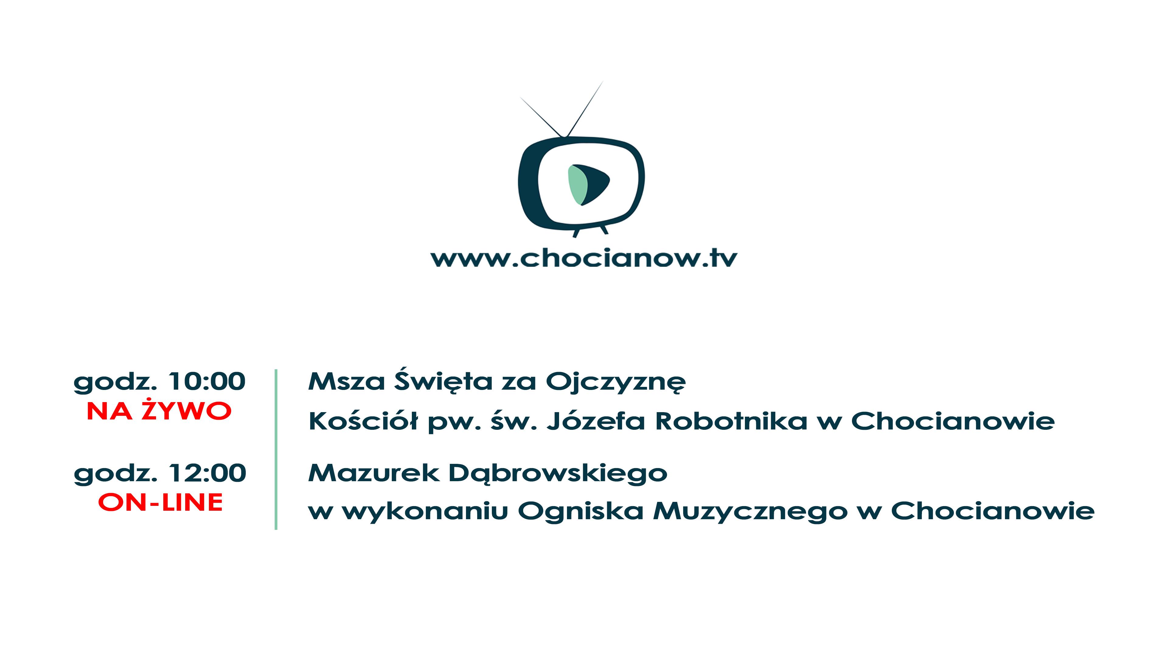 Msza Święta i Mazurek Dąbrowskiego na żywo już jutro