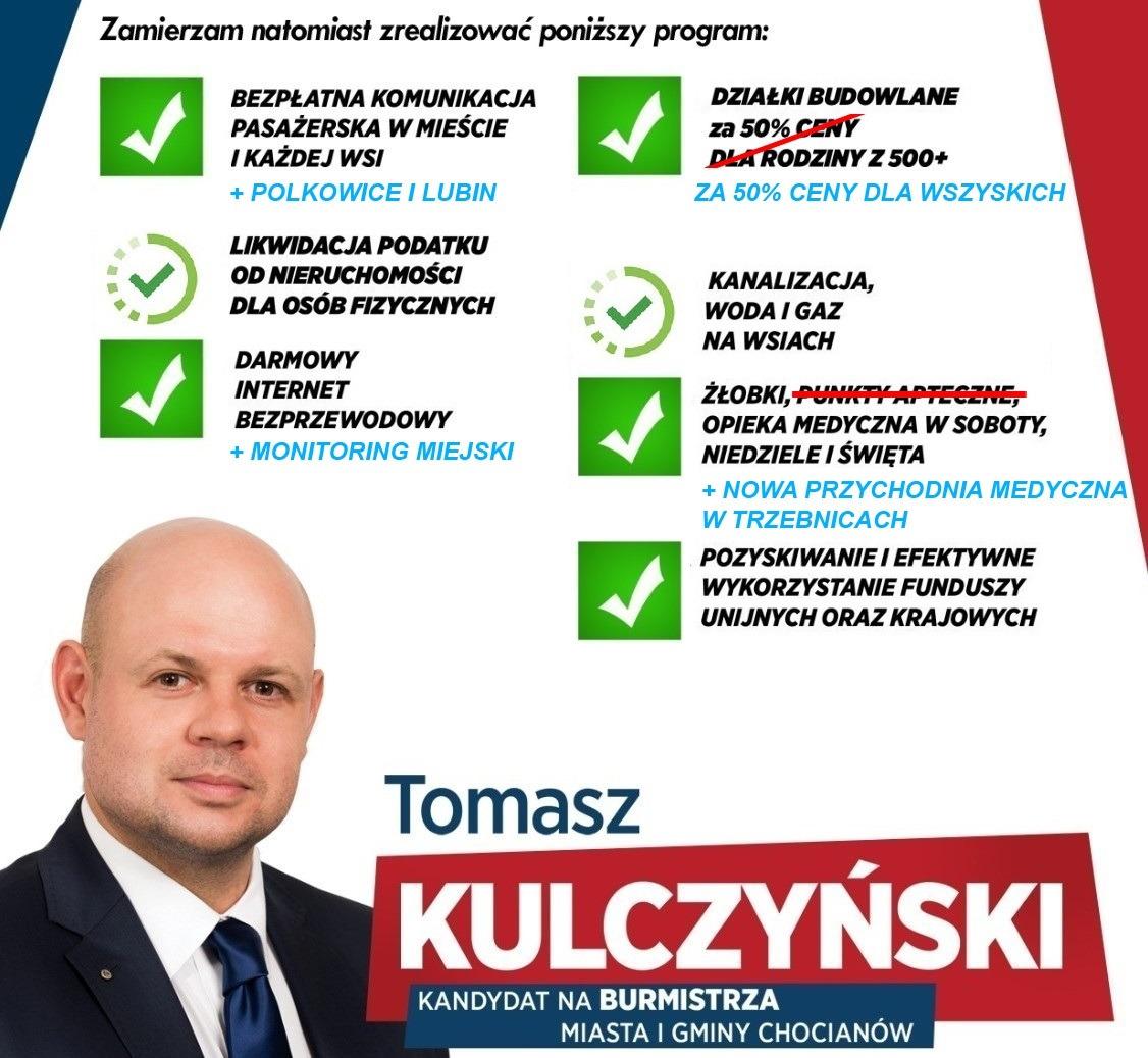 Sprawdzamy obietnice wyborcze Kulczyńskiego: żłobki, opieka medyczna i pozyskiwanie dotacji