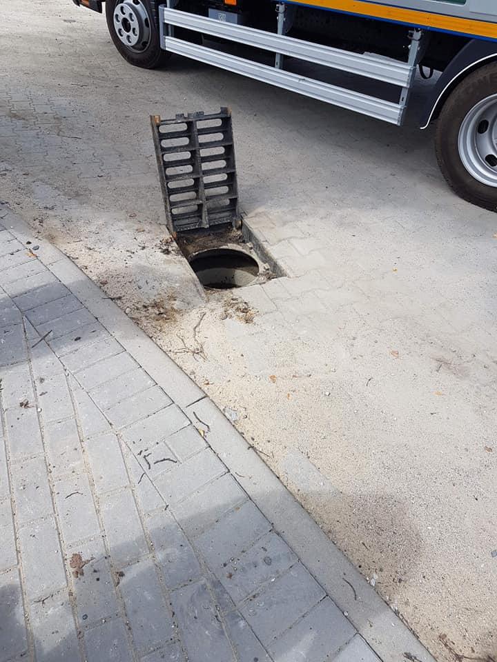 Dbajmy o sieć kanalizacyjną w naszej gminie