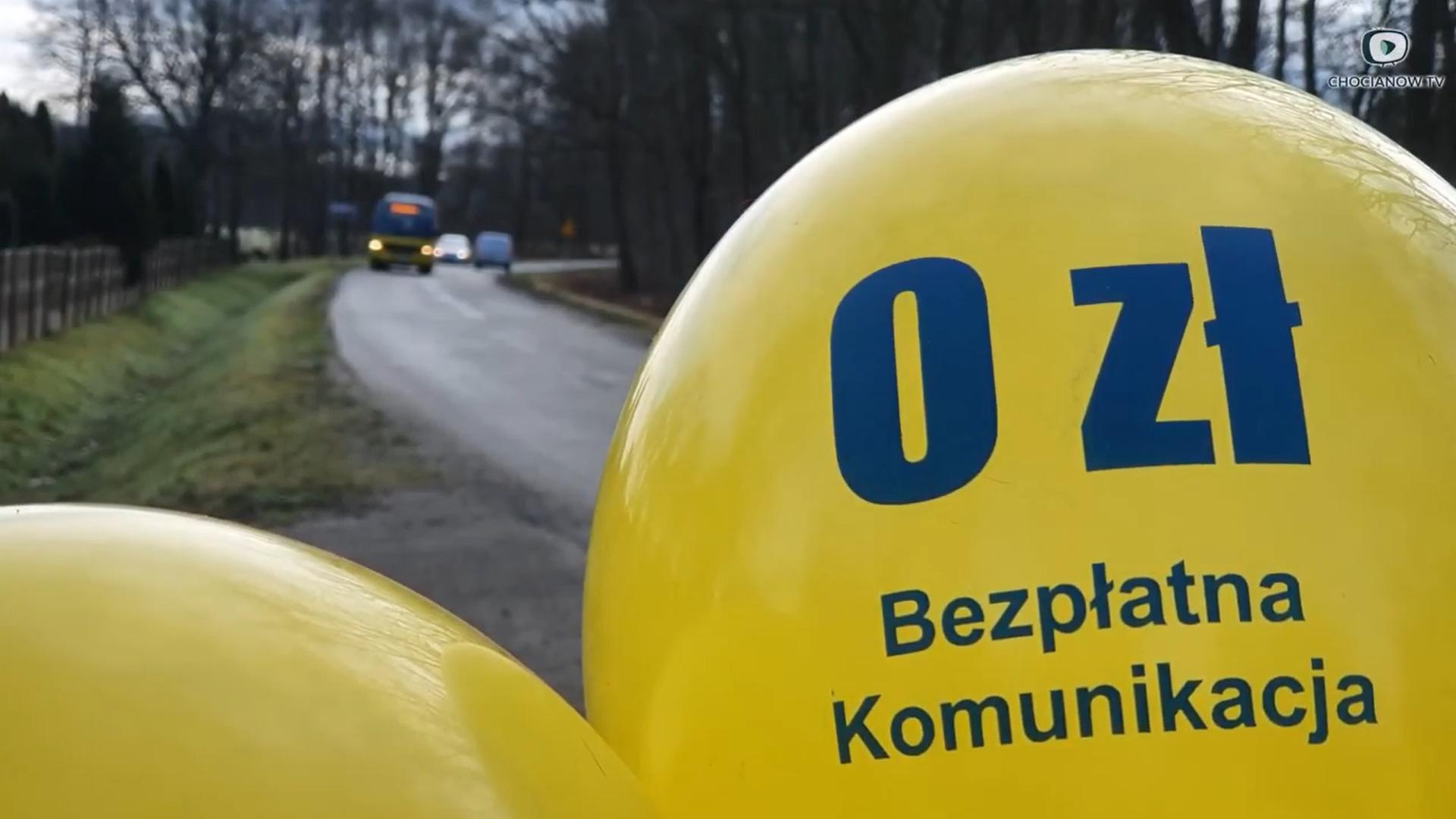 O autobusach w Chocianowie (wideo)