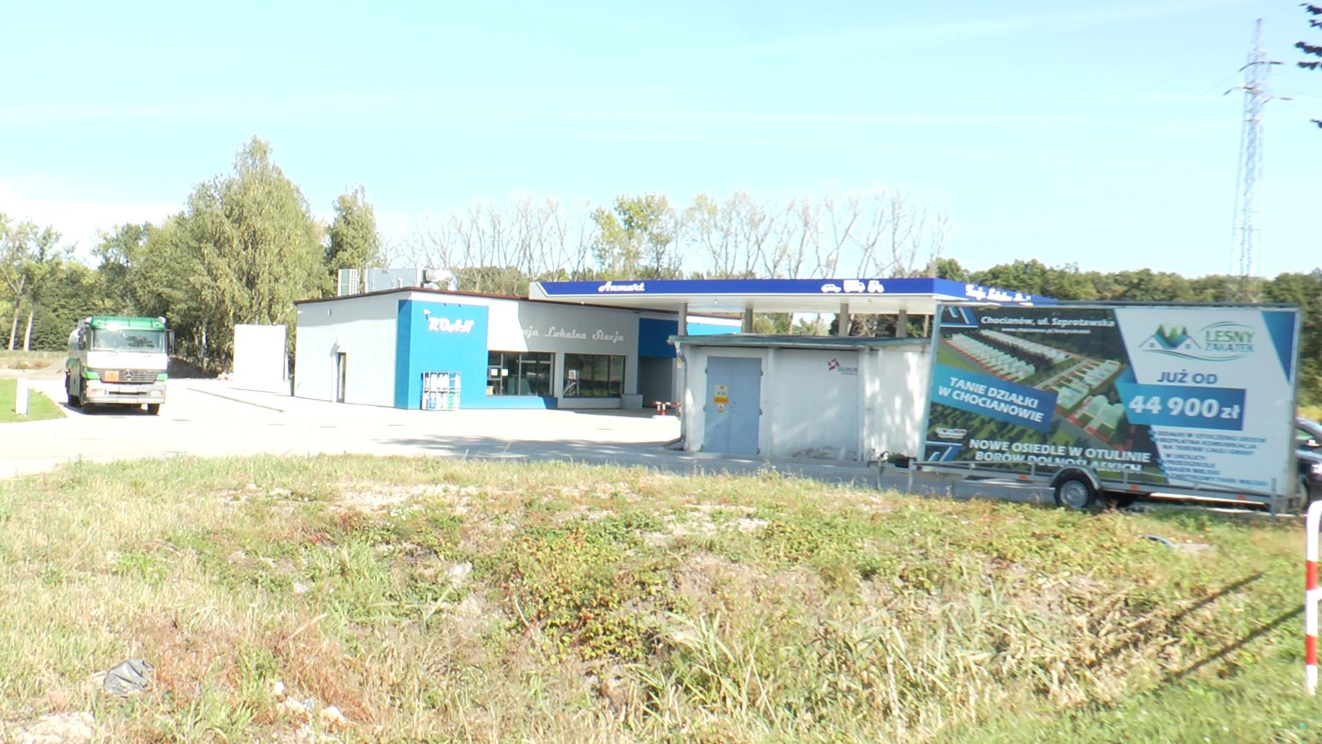 Pierwsza całodobowa stacja benzynowa w Chocianowie (wideo)