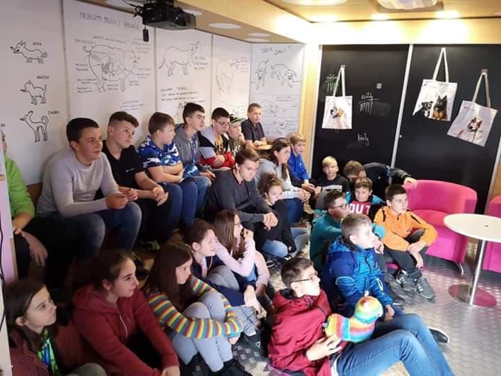 Uczniowie uczestniczyli w akcji edukacyjnej pn. ,,MY NIE GRYZIEMY''