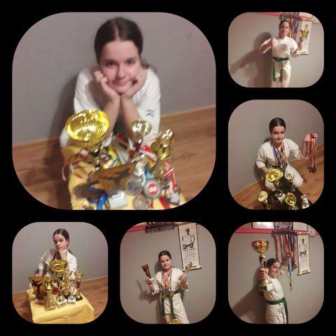 Czy reprezentantka chocianowskiego karate zostanie sportowcem roku?