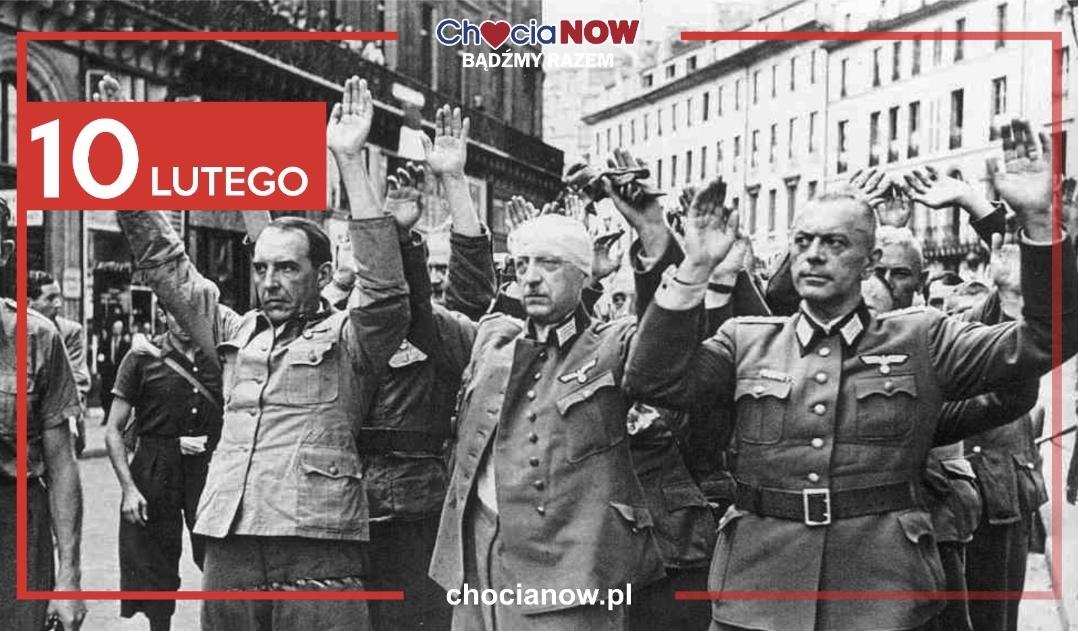 10 lutego, niemiecka kapitulacja w Kotzenau